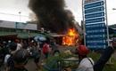 """Cháy lớn chợ đêm """"làng đại học"""", hàng trăm sinh viên hốt hoảng bỏ chạy"""