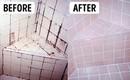 Những đường đen dơ bẩn sẽ biến mất khỏi nhà tắm trong chốc lát nhờ xịt dung dịch này