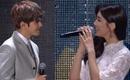 """Suzy gây sốt khi quá """"tình"""" với """"Thập hoàng tử"""" Baekhyun trên sân khấu"""