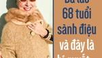Bà lão 68 tuổi sành điệu, trẻ trung và đây là bí quyết...