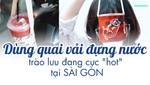 Dùng quai vải đựng nước cách bảo vệ môi trường cực đáng yêu của các bạn trẻ Sài Gòn