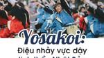 Yosakoi - Điệu nhảy vực dậy tinh thần Nhật bản sau chiến tranh