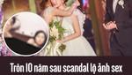 Tròn 10 năm sau scandal lộ ảnh sex, Chung Hân Đồng khóc như mưa trong hôn lễ cổ tích của mình