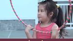 """Con gái Huy Khánh: """"Ba tập thể dục để có vợ khác là không được đâu nha"""""""