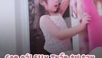 Con gái Elly Trần tự tay đắp chăn cho mẹ đỡ lạnh
