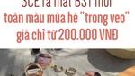 """3CE ra mắt BST mới toàn màu mùa hè """"trong veo"""" giá chỉ từ 200.000 VNĐ"""