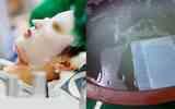 Quy trình làm mặt nạ dưỡng da xứ Hàn... khiến ai nhìn cũng phải rùng mình
