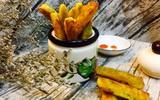 Khoai lang chip - món ăn vặt dễ làm mà ai cũng ghiền