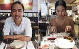 Vợ chồng Tăng Thanh Hà đăng ảnh dùng bữa tối lãng mạn trong ngày Valentine