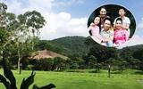 Cuộc sống bình yên của gia đình ca sĩ Mỹ Linh trong nhà vườn ngập tràn sắc hoa ở ngoại ô
