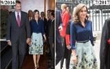 Giống công nương Kate, Nữ hoàng Tây Ban Nha chỉ chuộng những hãng đồ bình dân và chẳng ngại mặc đi mặc lại một mẫu