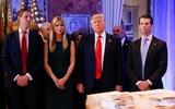 Tổng thống Donald Trump nhượng quyền chủ tịch tập đoàn cho con trai để yên tâm lo việc nước