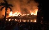 Nam Định: Nhà thờ cổ hơn 100 năm tuổi bị thiêu rụi trong đêm