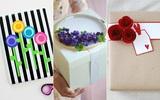 Mách bạn 3 cách tô điểm cho gói quà yêu càng thêm yêu
