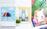 3 cách làm khung ảnh trang trí phòng xinh cực đơn giản cho mẹ vụng