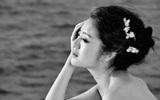 An Dĩ Hiên đẹp như tiên nữ trong bộ ảnh cưới tại thiên đường Mandives