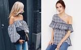 8 kiểu váy áo khoe khéo xương quai xanh gợi cảm khiến các nàng chỉ chờ hè đến là diện