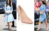 Có cả 1 tủ giày nhưng công nương Kate Middleton vẫn chỉ trung thành với đôi giày này mà thôi