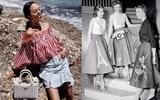 Ngược dòng về quá khứ xem sự thay đổi của chân váy qua từng thời kỳ
