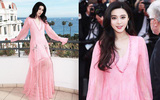 Phạm Băng Băng tự dìm phong cách với váy hồng quá