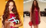 Krystal diện đồ đơn giản, nổi bật với thần thái sang chảnh tại Tuần lễ thời trang Milan