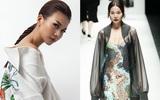 Thanh Hằng ấn tượng với thần thái sắc lạnh trong show diễn của Công Trí tại Tokyo Fashion Week