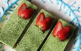 Không cần lò nướng vẫn làm được bánh cheesecake trà xanh siêu ngon
