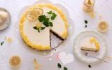 Ngọt ngào bánh kem phô mai sầu riêng