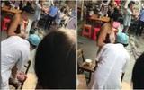 Thai phụ sinh con rơi ngay giữa chợ rồi điềm nhiên bế con và xách giỏ thức ăn về nhà