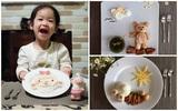Chẳng cần khéo tay vẫn có thể trang trí món ăn siêu đẹp giúp con hết biếng ăn