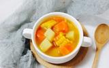 Ngọt ngon canh rau củ nấu chay