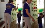 Clip cô giáo mầm non dùng dép đánh trẻ ở trường mầm non nổi tiếng Hà Nội gây xôn xao