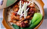 Bữa trưa có cơm gà chiên xì dầu ngon không thua cơm nhà hàng nổi tiếng!