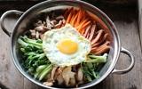 Bữa trưa ngon ngất ngây với cơm trộn chuẩn kiểu Hàn Quốc