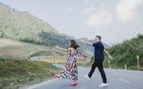 Cặp đôi ngoại quốc chung nhau tiết kiệm tiền làm đám cưới, tới Mộc Châu lưu dấu hình ảnh ngày chung đôi