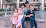 Mặc tin đồn sinh con thứ 5, Minh Hà - Lý Hải vẫn vui vẻ đưa cả nhà đi du lịch