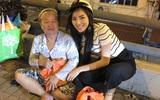 Sau scandal ầm ĩ, Hoa hậu Kỳ Duyên âm thầm phát quà cho người vô gia cư lúc nửa đêm