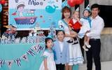 Vợ chồng Lý Hải - Minh Hà tổ chức sinh nhật hoành tráng cho con út