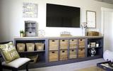 7 cách hay giúp bạn tận dụng tối đa phòng khách để lưu trữ đồ