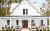 Ngôi nhà nhỏ theo phong cách đồng quê đẹp dịu dàng, đủ bình yên cho ngày cuối tuần