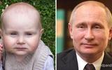 Kinh ngạc trước sự giống nhau đến khó tin của các em bé với người nổi tiếng