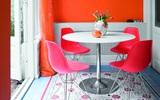 Bàn tròn - lời giải đúng dành cho các thiết kế phòng bếp có diện tích chật hẹp