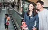 Vợ chồng Lee Bo Young khoe con gái 2 tuổi cực đáng yêu trong chuyến du lịch gia đình