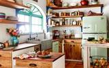 Gỗ - chất liệu không thể thiếu trong trang trí căn bếp của bạn