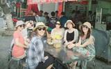 Kim Hee Sun không ngần ngại lê la vỉa hè, thưởng thức các món ăn tại Đà Nẵng