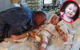 Nụ hôn cuối - khoảnh khắc ám ảnh của người bố từ biệt con gái 2 tuổi qua đời vì bị mẹ đẻ bạo hành