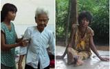 Mẹ già ngã bệnh nhập viện điều trị, 4 người con tâm thần lại bơ vơ đợi mẹ về cho ăn cơm