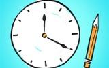 Vẽ mặt đồng hồ lên giấy, bài tập kiểm tra trí nhớ cực quan trọng