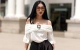 Trang Trang Trần - Quý cô độc thân sành điệu, cứ lên đồ là chỉ chăm chăm diện đen trắng