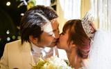 Kelvin Khánh và Khởi My trao nhau nụ hôn ngọt ngào trong hôn lễ